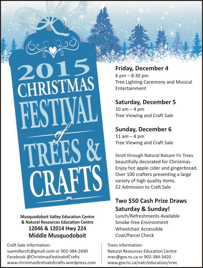 Festival of Trees & Crafts 2015